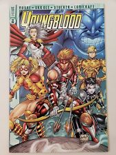 YOUNGBLOOD Vol 3 #2 (1998) AWESOME COMICS ALAN MOORE!! LIEFELD VARIANT COVER!