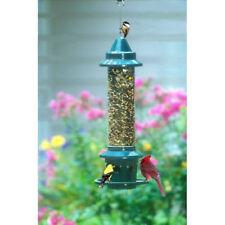 Wild Bird Feeder Cardinal Hanging Perch Ring Garden Lawn Decor Squirrel Proof