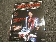 """CD-LIVRE """"JOHNNY HALLYDAY AU ZENITH (1984)"""" le meilleur sur scene N°55"""