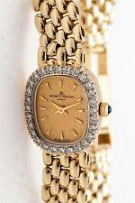 Estate $5000 Baume & Mercier .75ct VS G Diamond 14k Yellow Gold Ladies Watch
