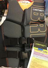 New listing  00004000 O'Brien Watersports Mens Flex V-Back Lightweight Life Jacket, Orange,Size Xsmall