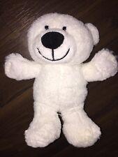 Hyundai Teddybär Eisbär Sitzt Stofftier Kuscheltier Plüschtier Weiß Creme White
