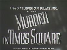 MURDER IN TIMES SQUARE 1943 (DVD) EDMUND LOWE