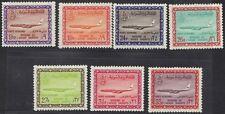 SAUDI ARABIA 1965 AIR MAIL BOEING K SAUD CARTOUCHE 9 19 24 26 27 31 33 pi ALL NH