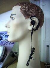 Radio scanner earpiece comfy rubber 3.5mm jack