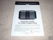 Krell Full Balanced FPB 200 Amplifier Ad 1997,RAW POWER