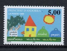ANDORRA SGF551 1999 GREEN WORLD MNH