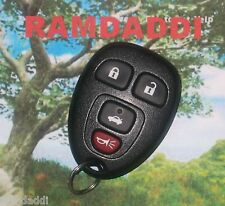 OEM 15252034 GM Keyless Entry Remote All Original Key Fob Transmitter NICE!
