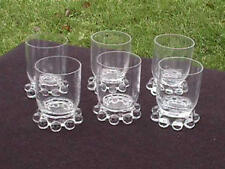 SET OF 6 CANDLEWICK 3 OZ. FTD. WINES