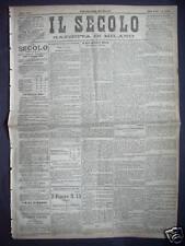 1882 IL SERVIZIO POSTALE NELL'ANNO 1880