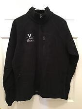 NWT Virginia UVA Cavaliers Men's Columbia Omni-Heat Black Fleece Jacket Small