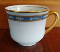 O.P CO Syracuse China MISTIC DEMITASSE COFFEE CUP FLORIDA EAST COAST RAILROAD RR