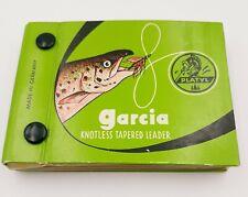 Vintage Garcia Platyl Knotless Tapered Leader Booklet
