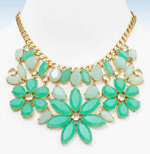 Kate Spade Gardens of Paris Statement  Necklace NWT 12K Gold Plate