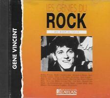 CD album: Les Génies du Rock: Gene Vincent. Atlas. A1