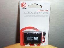 RadioShack 3.6V/350mAh Ni-Cd Rechargeable Phone Battery 2302347