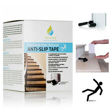 Non Slip Floor Stair Tape Strong Grip Safety Tape Treads Sticker Strip 15x Pack