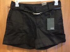 a.n.a. Black Shorts With Cuffs Size 6 NEW