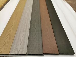 COMPOSITE FENCE BOARDS. 5 colour sample pack. Composite fencing