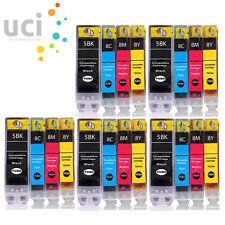 20 INK CARTRIDGES FOR CANON PIXMA iP3300 iP3500 iP4200 iP4300 iP4500 PGI5 CLI8