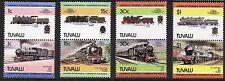 Tuvalu 1984 Railway Locomotives 3rd Series SG 273 - 280 unmounted mint