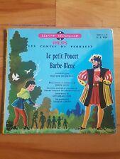 les contes de perrault - le petit poucet barbe-bleue - livre disque