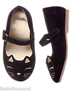 NWT GYMBOREE Catastic Kitty Shoes Flats cat Toddler Girls SZ 4 5 6 8 9