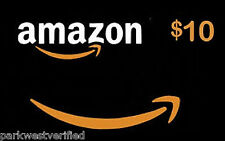 $10 AMAZON GIFT CARD (PHYSICAL) • 24 HR FAST SHIPPING PROMO! • SHIPS SAME DAY!••