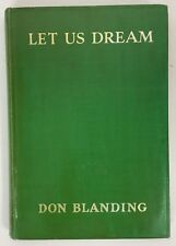 Let Us Dream Don Blanding Signed Hardcover 1935 Poetry