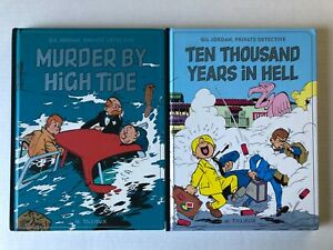 Gil Jordan Private Detective Murder By High Tide Years Hell HC/Graphic Novel Lot