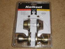 Kwikset 690T 3 CP CODE K6 BBPKG Polished Brass Knob Combo Kit,