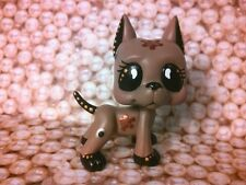 Great Dane Dog Steam Punk Gears * OOAK Hand Painted Custom Littlest Pet Shop