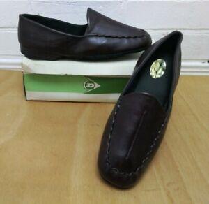 Men's Dunlop Vintage Slippers Burgundy NIB Size UK 10
