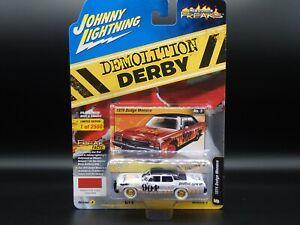 2020 JOHNNY JL WHITE LIGHTNING 1974 DODGE MONACO DEMO DERB STREET FREAK CHASE 3A