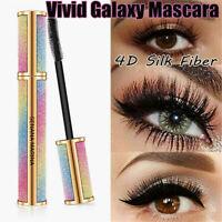1*Vivid Galaxy Mascara Silk Fiber Lashes Thick Lengthening Waterproof Mascara H7