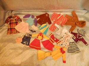 Vintage Sindy Doll Clothes Outfits Bundle Some TLC