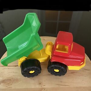 Androni Giocattoli Tipper Dump Truck Power Workers Pre School ITALY Sandbox Toy