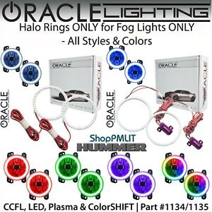 ORACLE Halo Rings for Fog Lights for 06-10 Hummer H3 & H3T *All Colors - 1135