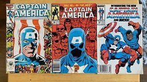 Captain America Key Issue Low Grade 323 333 334 Mark Jewelers 1st John Walker