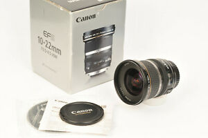 Canon EFS 10-22mm f/3.5-4.5 USM Wide Angle Zoom Lens