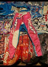 Vintage JT Racing Paintball Motocross Pants 32 pink blue old school