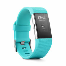 New Fitbit Charge 2 Heart Rate Fitness & Wristband Small Teal - New in box!