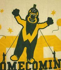 WAYNE STATE UNIVERSITY med T shirt mascot WSU Warriors homecoming 2014 Michigan