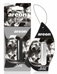 Areon Liquid 5ml. Black Crystal Car Aroma Perfume Tree Air Freshener Scent