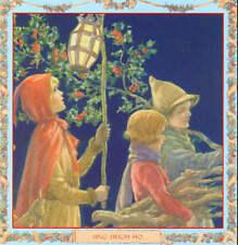 Christmas Carolers Sing Hey Ho by Margaret Tarrant