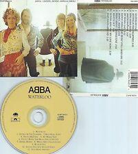 ABBA-WATERLOO-1974-USA-POLAR / POLYDOR RECORDS 42284 3643-2-PMDC-CD-MINT-