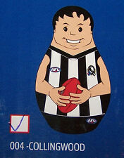 Collingwood Magpies AFL Kids Original Inflatable Tackle Buddy 1m Tall New