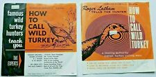 "Vtg Penn's Wood's Products 331/3 Records""How to Call A Wild Turkey"" Roger Latham"
