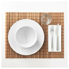 TOGA Place Mat Natural Bamboo Table Top Protector 35x45 cm IKEA