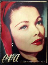 GENE TIERNEY (EARLY 40,S EURO MAGAZINE) CLASSIC HOLLYWOOD ACTRESS
